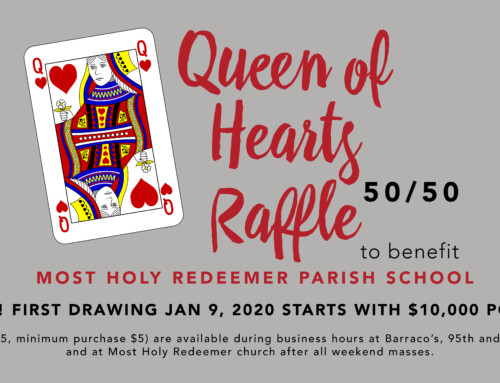 The Queen of Hearts Drawing Tonight!